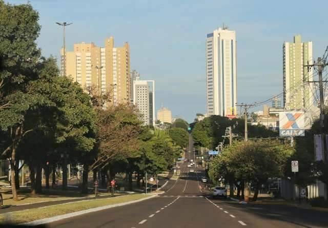 Domingo de sol é prenúncio de semana de calor em Campo Grande