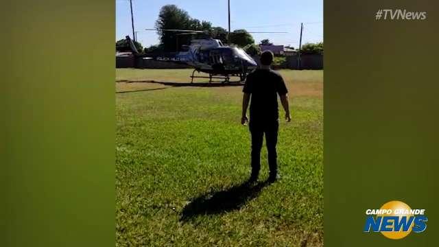 Vídeo mostra chegada de assassino de Dirceu Lanzarini em helicóptero